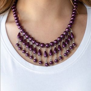 "New! Paparazzi ""Miss Majestic"" Purple Necklace"